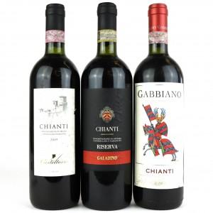 Assorted Chianti 3x75cl