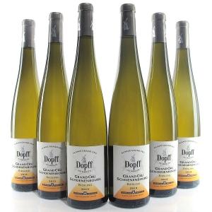 """Dopff""""Schoenenbourg"""" Riesling 2013 Alsace Grand Cru 6x75cl"""