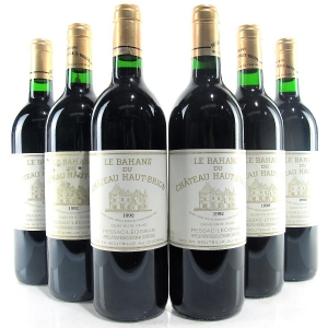 Le Bahans Du Ch. Haut-Brion 1992 Graves 6x75cl