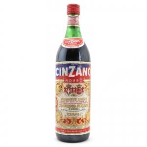 Cinzano Rosso Vermouth 1 Litre / Circa 1970s