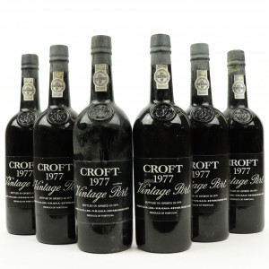 Croft 1977 Vintage Port 6x75cl
