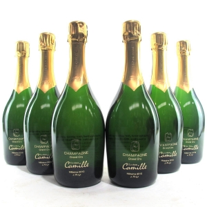 "Camille Bonville ""Cuvee Camille"" 2010 Vintage Champagne Grand-Cru 6x75cl"