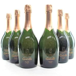 "Camille Bonville ""Cuvees Camille"" Rose NV Champagne Grand-Cru 6x75cl"