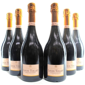 Louis Tollet NV Rose Champagne Grand-Cru 6x75cl