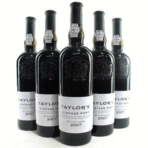 Taylor's 2007 Vintage Port 5x75cl
