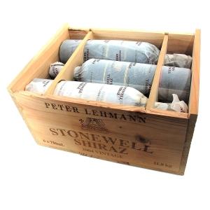 Peter Lehmann Stonewell Shiraz 2004 Barossa 6x75cl / Original Wooden Case