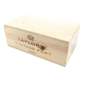 Taylor's 2007 Vintage Port 6x75cl / Original Wooden Case