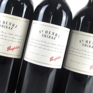 Buy Penfolds St Henri 2007 1.5 Litre Magnums in Wine Auctioneer's July auction. Also featuring Chateau Mouton-Rothschild, Lafite-Rothschild, Latour, Margaux, Domaine De La Romanée-Conti (DRC), Vieux-Télégraphe, Henschke, Cloudy Bay; Wines from Napa, Barossa, Mendoza and Rhone Valleys; in the styles of Barolo, Chianti, Amarone; and many more. Sign up at www.wineauctioneer.com/register