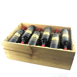Ch. Palmer 1996 Margaux 3eme-Cru 12x75cl / Original Wooden Case