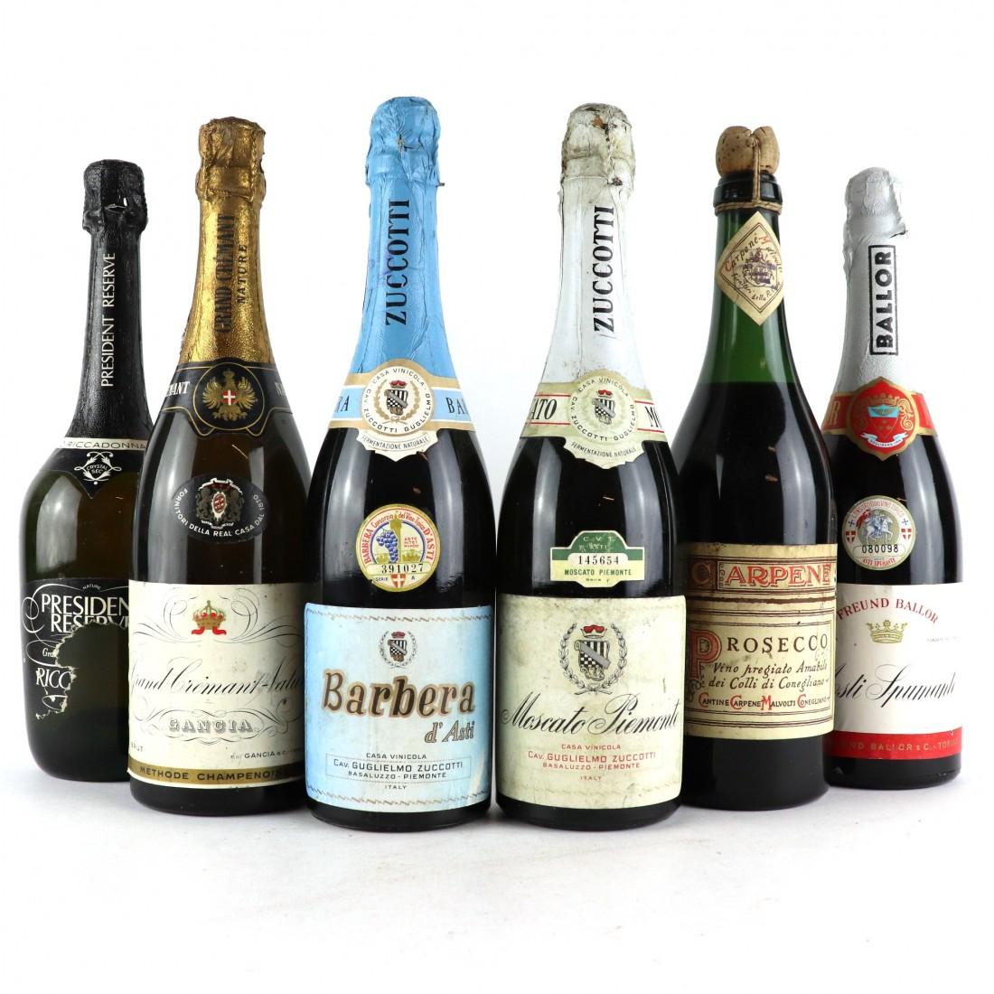 Isolare La Casa Basaluzzo assorted italian sparkling wines / 6 bottles | wine auctioneer